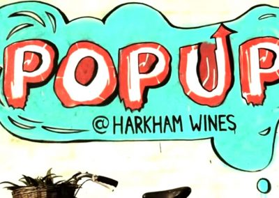 Harkham wines pop up