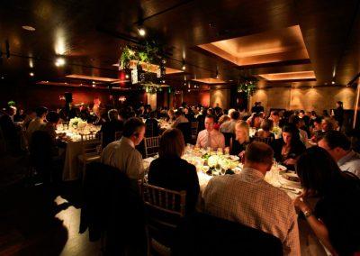 KPMG Partners dinner seating