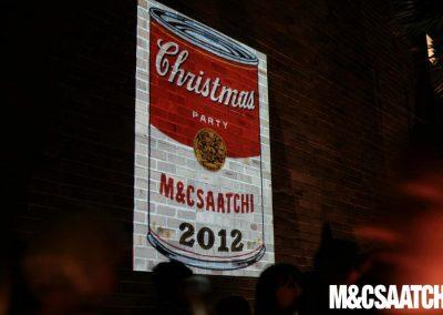 M&C Saatchi Factory props