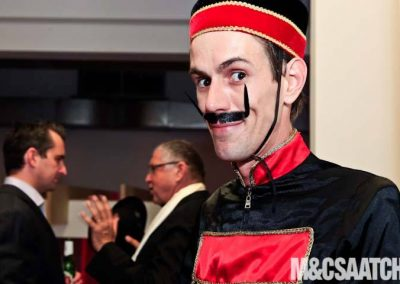 M&C Saatchi Paramount waitor